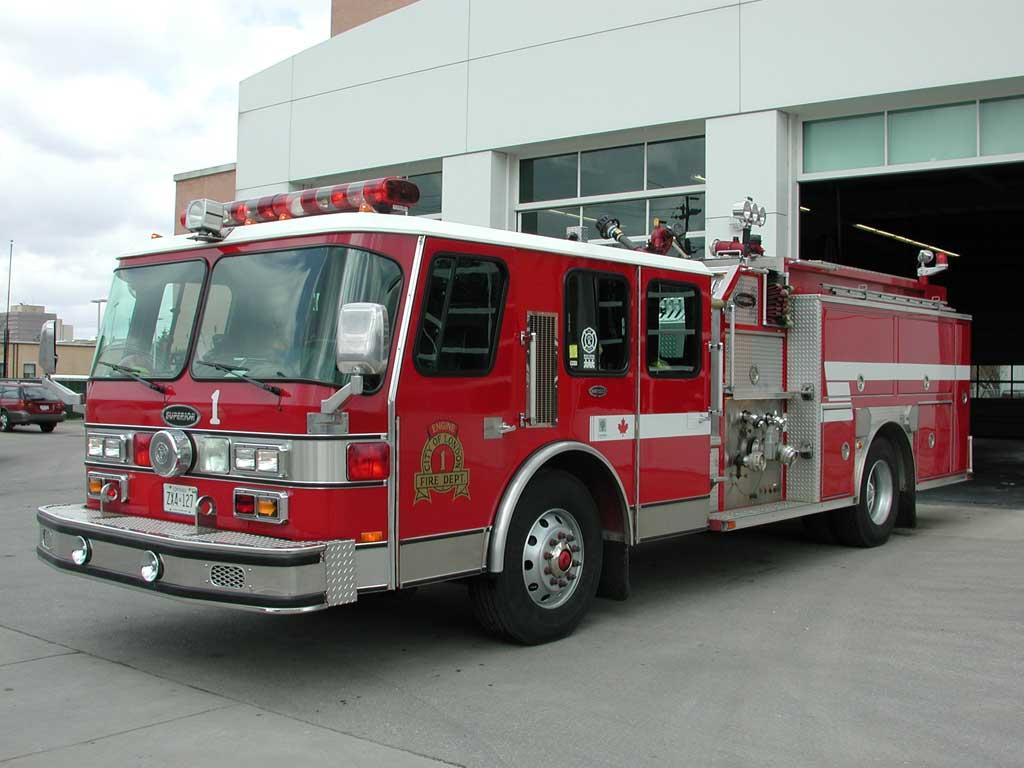 Camion de pompier canadiens - Image camion pompier ...