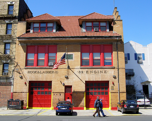 &quot;The Big House&quot; Fire House at 1215 Intervale Avenue, Bronx NYC