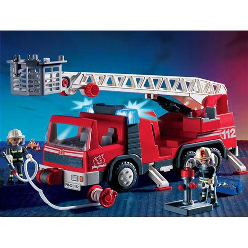 Jouet pompier - Playmobil camion ...